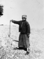 Khalil Raad, Shepherd with sling.png