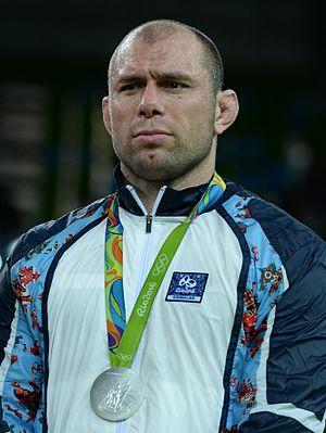 Khetag Gazyumov - Gazyumov at the 2016 Olympics