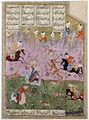 Khosrow and Shirin hunting lions (6125040294).jpg