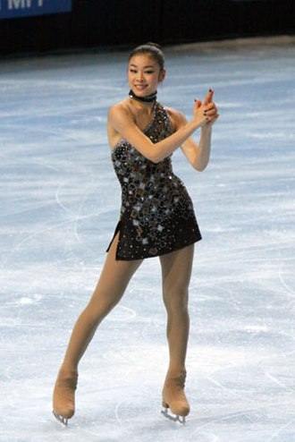 Yuna Kim - Kim performing her short program to the 007 James Bond Medley at the 2009 Trophée Eric Bompard.