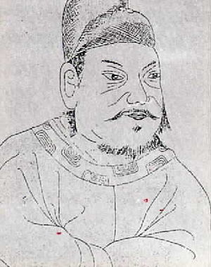 Jeongjo of Joseon - Jeongjo's portrait from Seon-one-rok (royal genealogy book)
