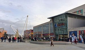 Kingsway Shopping Centre - Image: Kingsway shopping centre