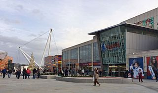 Kingsway Shopping Centre shopping centre in Newport, Wales