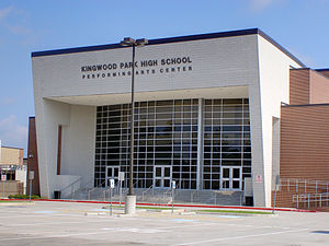 Kingwood Park High School - Kingwood Park High School Performing Arts Center