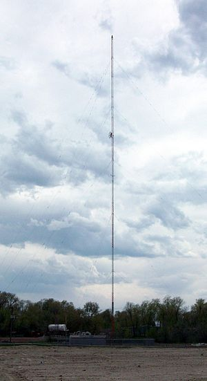 KBJA - The radio tower for KBJA, shared with KKAT (AM)