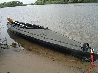 Folding kayak - Klepper Aerius Quattro XT in military colors