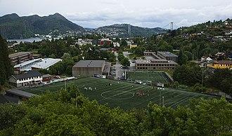 Askøy - Askøy in mid-June 2008