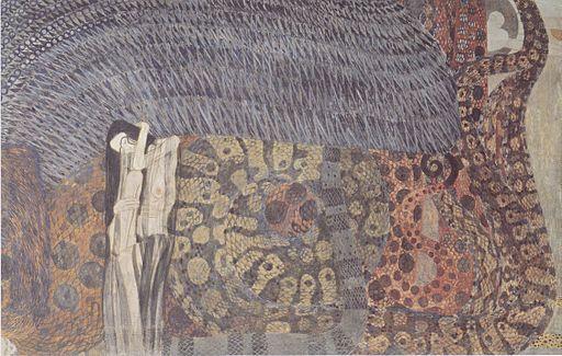 Klimt - Nagender Kummer
