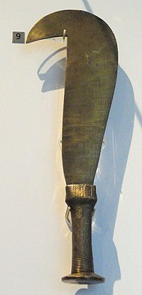 Knife, Teke, Democratic Republic of the Congo, late 19th century - Royal Ontario Museum - DSC09593.JPG