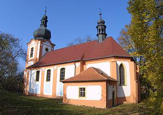 Kožlany Town in Czech Republic