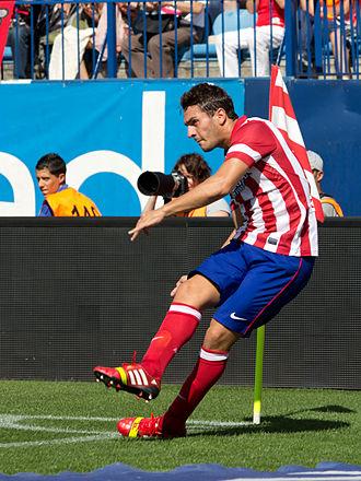 Koke (footballer, born 1992) - Koke playing for Atlético Madrid in 2013