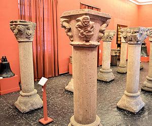 National Museum, Szczecin - Image: Kolumny z Kolbacza