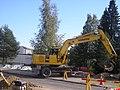Komatsu excavator in Finland.jpg