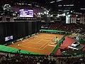 Korty tenisowe w Spodku - BNP Paribas Katowice Open 2013 (3).jpg