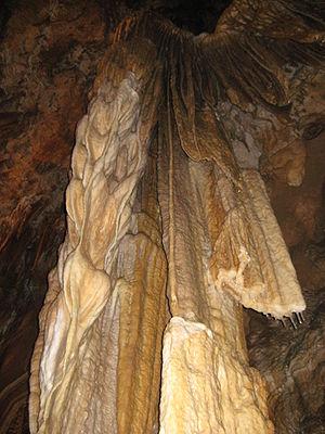 English: Kostanjevica cave, Slovenia