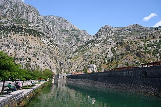 Architecture of Montenegro - The Venetian fortifications of Kotor
