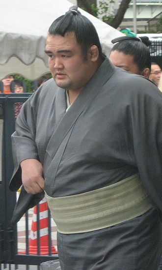 Kotoshōgiku Kazuhiro - Image: Kotoshogiku 08 Sep