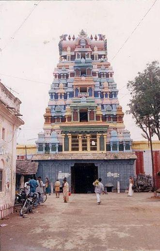 Thirupuvanam, Sivaganga - Kovil Entrance
