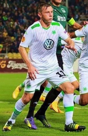 Ivica Olić - Olić with VfL Wolfsburg in 2014