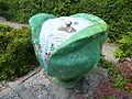 Krautkopfplastik Kleingartenverein Am Seebach Dorfstrasse Ismaning 10.08.13.jpg