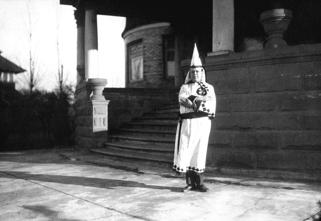 history of the ku kus klan Stetson kennedy works with the superman radio program to broadcast the  secret rituals and passwords of the ku klux klan to the public.