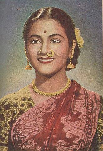 Kumari Kamala - Kumari Kamala in the early 1950s