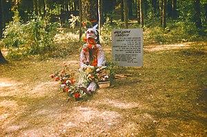 Kurapaty - Image: Kurapaty 1989 victim