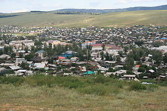 Kyakhta - View of the town
