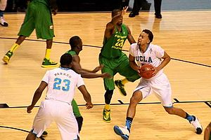 "Kyle Anderson (basketball) - Anderson is nicknamed ""Slow Mo"" after his deliberate style."