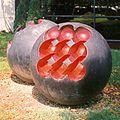 László Paizs Dual-sphere (1980) public art works.jpg
