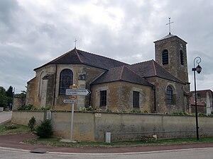 Lévigny - Image: Lévigny église 2
