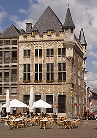 Medieval architecture in Aachen