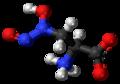 L-Alanosine zwitterion 3D ball.png