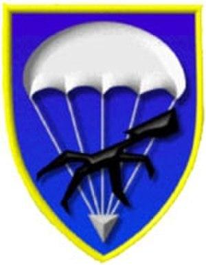 31st Airborne Brigade (Bundeswehr) - Internal formation sign Luftlandeunterstützungsbataillon 272