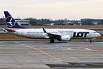 LOT, SP-LVC, Boeing 737-8 MAX (47578064542).jpg