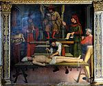 La Brigue - Collégiale Saint-Martin - Retable du martyre de saint Erasme -1.JPG