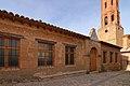 La Mata de los Olmos, Escuelas nacionales del Ave María, fachada.jpg
