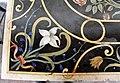 La petraia, loggetta est, ripiani di tavolini in pietre dure disegnati da j. ligozzi, 04.JPG