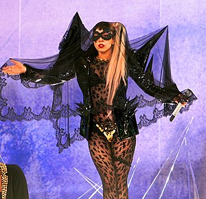 MTV Video Music Award for Best Pop Video - Image: Lady Gaga The Edge of Glory GMA