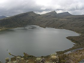 Le lac Chisaca dans le parc national naturel de Sumapaz.