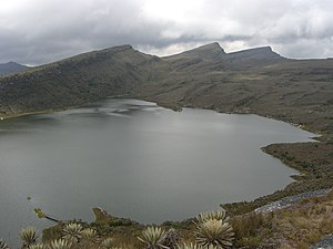 Cundinamarca Department - Chisaca Lake on the Sumapaz Paramo