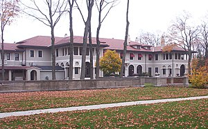 National Register of Historic Places listings in Lake County, Illinois - Image: Lake Forest Academy Reid Hall