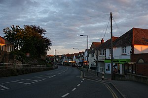 Lake, Isle of Wight - Image: Lake High Street at dusk