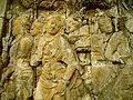 Lalitavistara - 046 S-27, Queen Maya traveling to Lumbini (detail) (8598212065).jpg