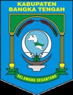 Central Bangka Regency - Image: Lambang Kabupaten Bangka Tengah