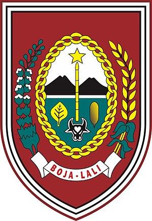 Boyolali Regency - Image: Lambang Kabupaten Boyolali