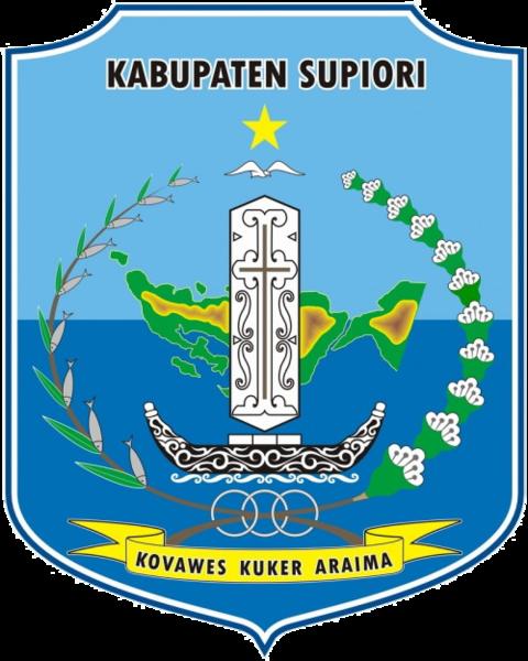File:Lambang Kabupaten Supiori.png