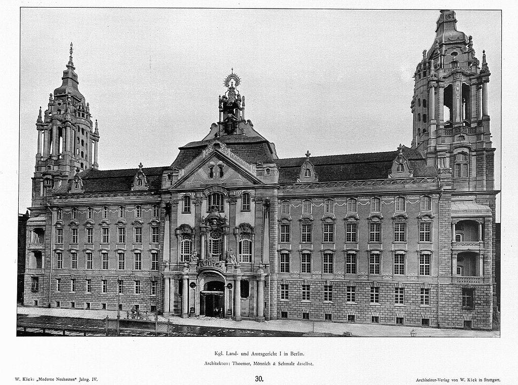 Planungsumfrage molkenmarkt klosterviertel deutsches for Architektur master berlin
