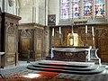 Laon (02), église Saint-Martin, chœur, maître-autel.jpg