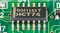 Laptop Acrobat Model NBD 486C, Type DXh2 - Texas Instruments HCT74 on motherboard-2362.jpg